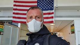 Petr Vágner odletěl z USA domů.
