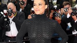 Michelle Rodriguez na filmové premiéře v Cannes
