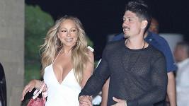 Mariah Carey s partnerem Bryanem Tanakou