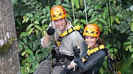 Britský královský pár si návštěvu Bornea užil naplno.