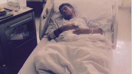 Raego ukázal fotku z nemocnice po předávkování.