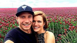 Gabriela Soukalová s přítelem