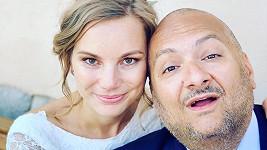 Patrik Hezucký s manželkou Nikolou