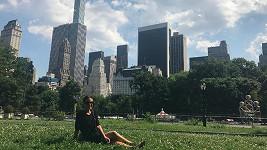 Poslední zaastávkou americké dovolené Gábiny Partyšové byl New York.