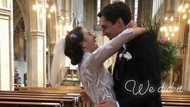 Jessica Brown Findlay se o víkendu provdala za Ziggyho Heatha.