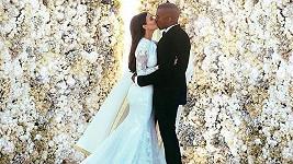 Mezi nejdražšími svatbami nemůže chybět ta Kim Kardashian a Kanyeho Westa