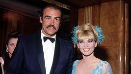Diane Cilento se svým někdejším manželem Seanem Connerym.