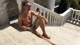 Marek Dědík vyrazil relaxovat do Rajeckých Teplic....