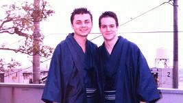 Juraj s kamarádem zkusili štěstí v Japonsku.