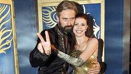 Herec s partnerkou Andreou Třeštikovou