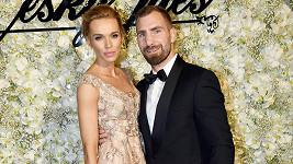 Hana Mašlíková s manželem Andrém