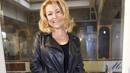 Eva Vejmělková na premiéře filmu Kluci z hor