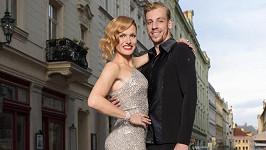 Gabriela Koukalová tančí pod vedením Martina Prágra.