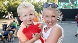Michaela Sejnová se pochlubila synem.