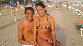 Martin Zach s přítelkyní Nikolou Hrubou