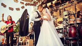 Únos nevěsty na koncertě Richarda Krajča. Diváci byli nadšeni a dojati.