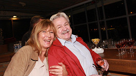 Helena i Pavel sršeli výbornou náladou