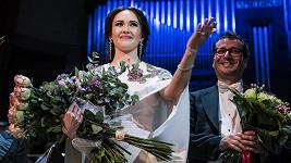 Aida měla na svém pražském recitálu obrovský úspěch.