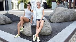 Kalousová a Kašáková společně trénují.