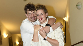Peter Pecha s manželkou Kateřinou