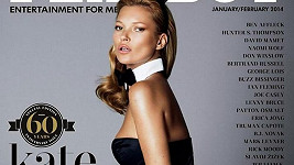 Kate Moss na obálce výročního Playboye