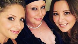 Shannen Doherty toho večera podpořila především kamarádka Sarah Michelle Gellar.