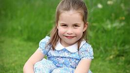 Princezna Charlotte slaví 4 roky.