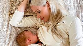 Kateřina Lébr Šonková se svým synem