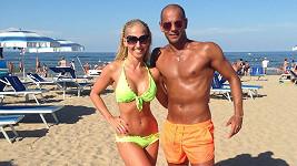 Eva jezdí se svým tanečním partnerem Zdeňkem i na dovolenou.