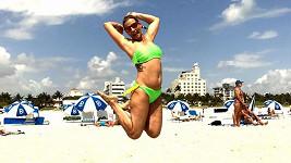 Monika Marešová tráví svátky jara na Miami s přáteli