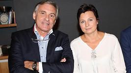 Jan Čenský s manželkou Danou. Archivní foto