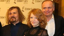 Petr Vachler s dcerou