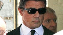 Sylvestera Stalloneho odchod syna velmi zasáhl.