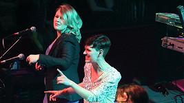 Tereza Černochová na pódiu pražské Lucerny