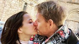 Karel Janeček a Lilia Khousnoutdinová