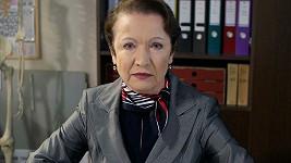 Hana Maciuchová coby Miriam Hejlová v seriálu Ulice.