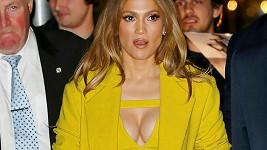 Jennifer Lopez v New Yorku zářila do tmy...