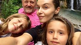 Společné selfie s rodinou.