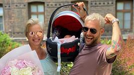 Martina Pártlová odešla z porodnice.