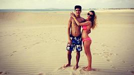 David Gránský s přítelkyní Nikolou