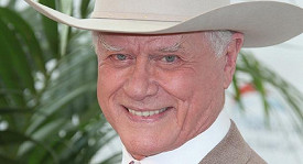 Larry Hagman alias JR z Dallasu na snímku z roku 2010.