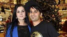 Radek Banga s manželkou Veronikou.
