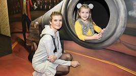 Iveta Vítová s dcerou Anetkou
