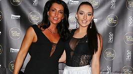 Eva Čížkovská s dcerou