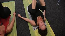 Ilona Svobodová tělo formuje pomocí pilates.