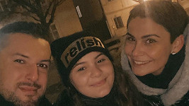 Vlaďka Erbová se Zdeňkem Bahenským a jejich dcerou Viktorkou