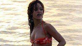 Rihanna na rodném Barbadosu o vánočních svátcích.