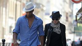 Madonna a její milenec Brahim Zaibat.