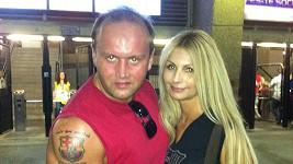 Marek Vít s přítelkyní Kateřinou