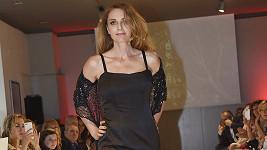 Jiránková během módní show